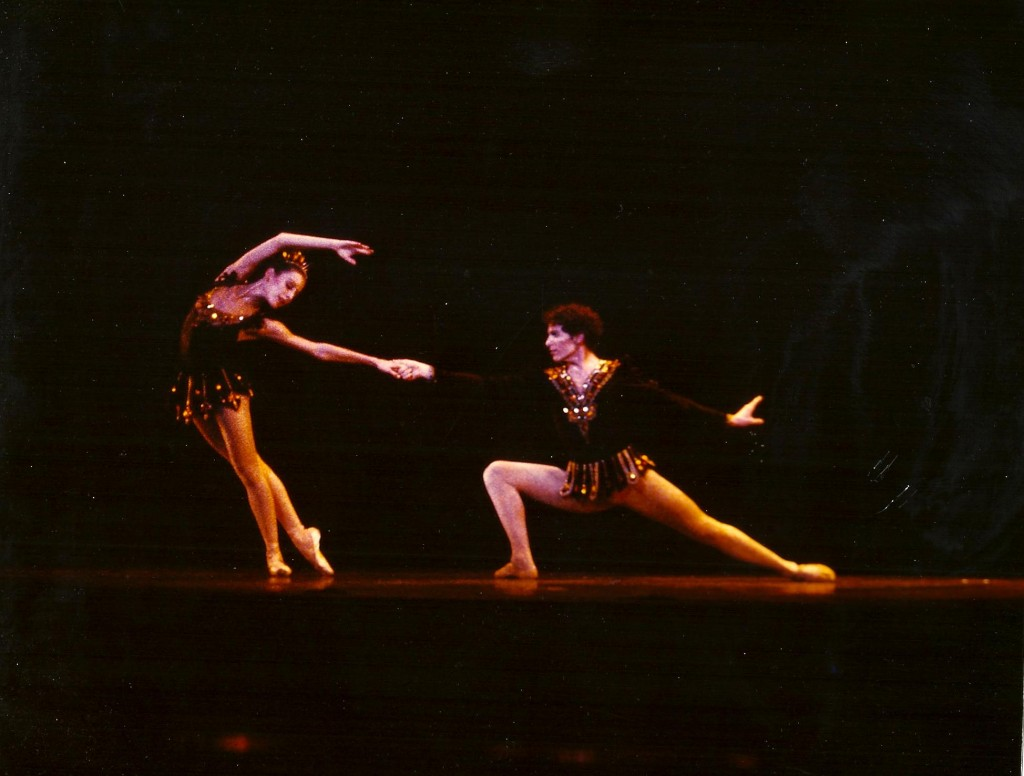Devon Carney and Leslie Jonas in Balanchine's Rubies