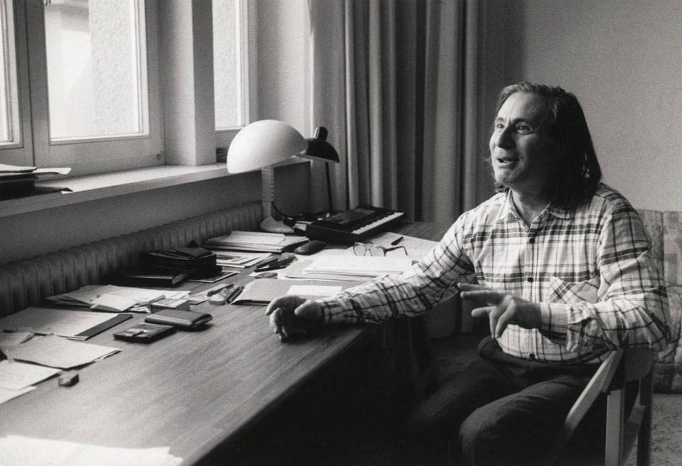 Composer Alfred Schnittke