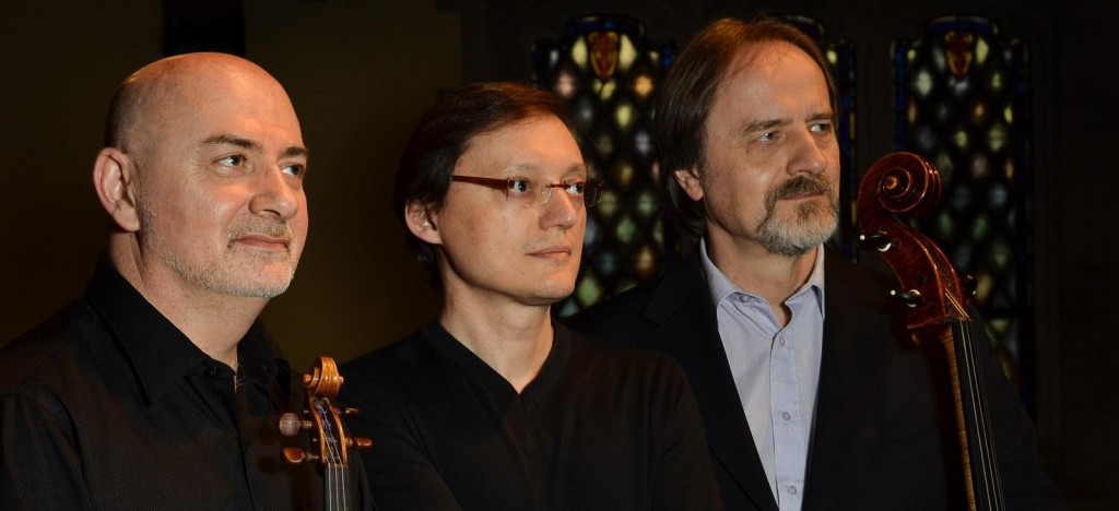 Park Piano Trio: Ben Sayevich, Stanislav Ioudenitch and Daniel Veis / Photo by Christian Fatu