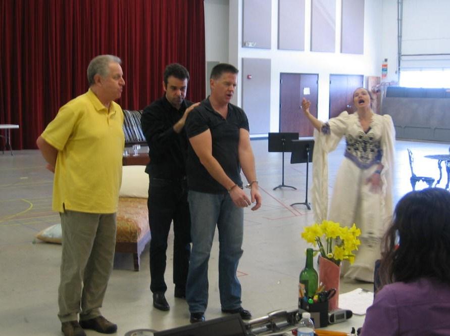 Lyric Opera rehearses Die Fledermaus
