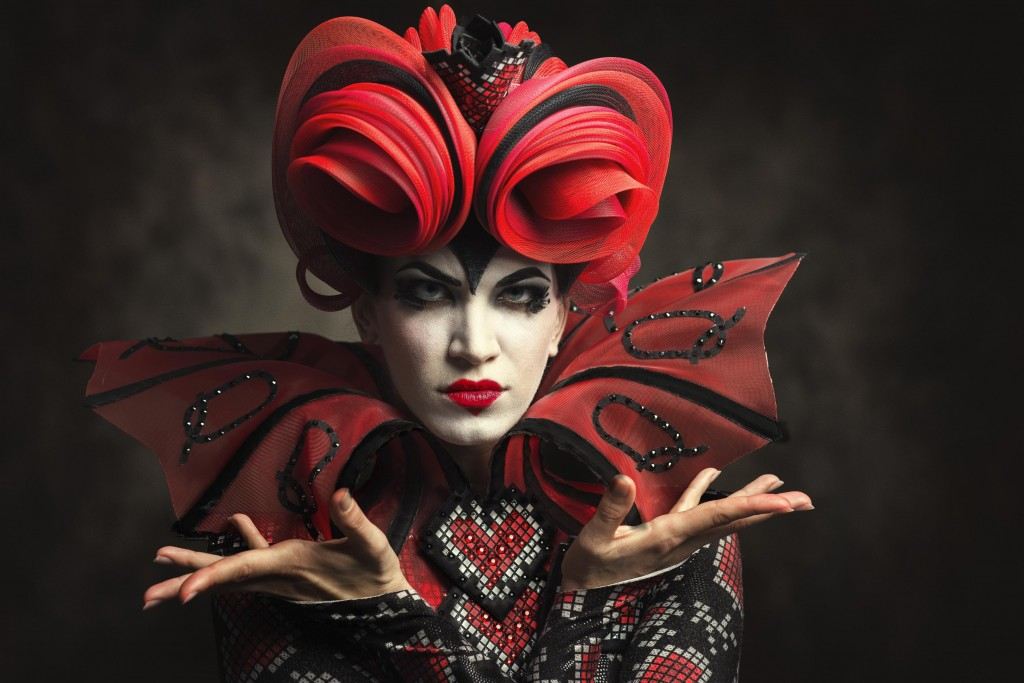Angelina Sansone as the Queen of Hearts
