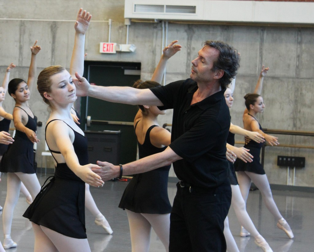 James Jordan coaching the KCB Summer Intensive in 2013