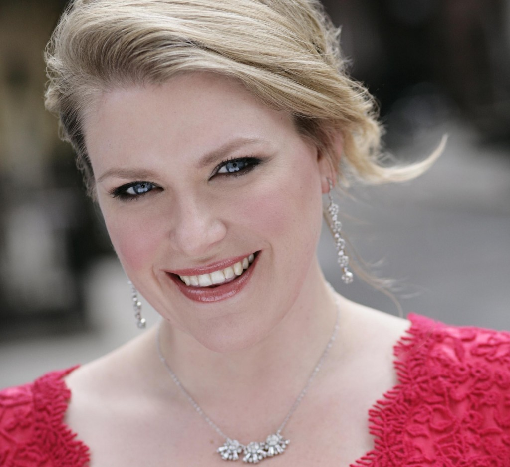 Soprano Erin Wall sings the only female role, that of the opera star Anna Sørensen