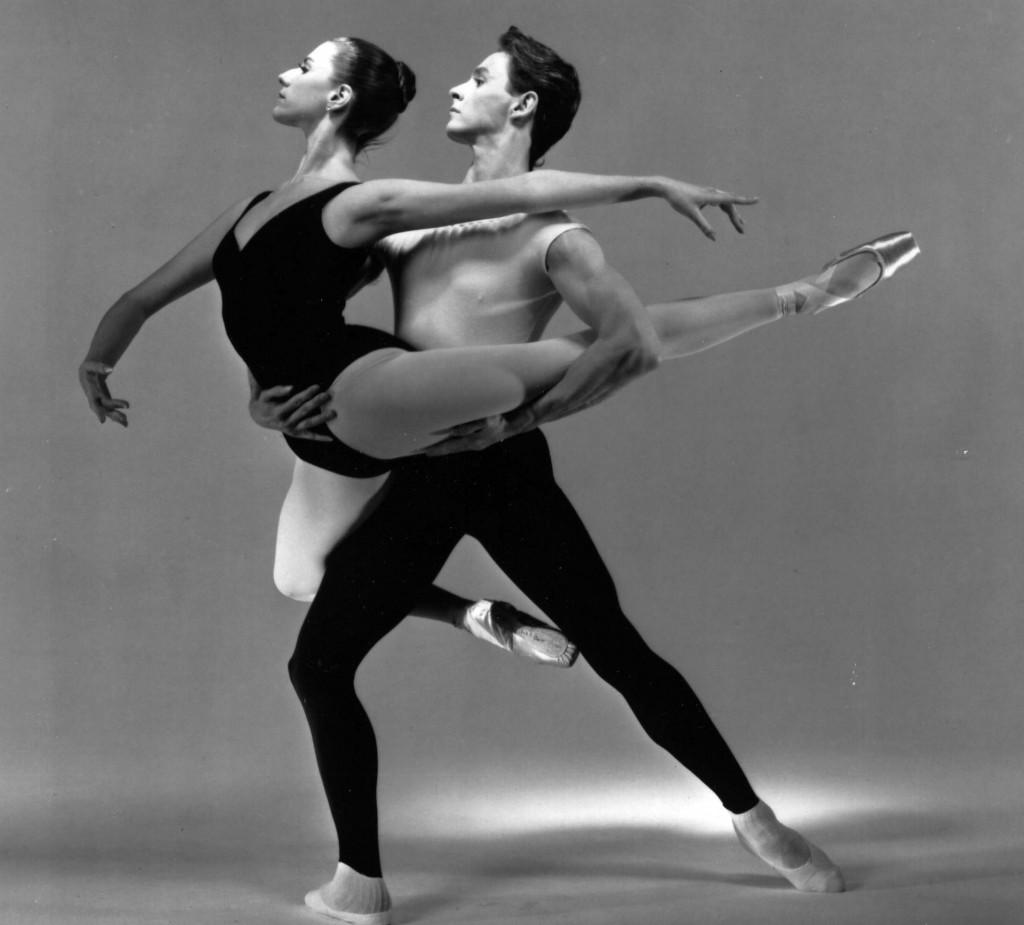 Susan Lewis and William Dunne danced in the KCB's 1990 'Temperaments' / Photo courtesy KCB