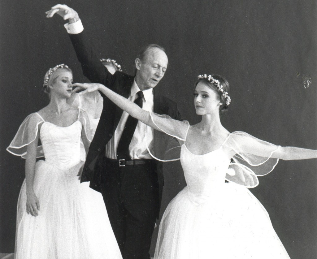 Balanchine dancer Todd Bolender was KCB Artistic Director from 1980 to 1996 / Photo KCB