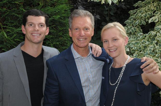 Michael, Marshall, Beth