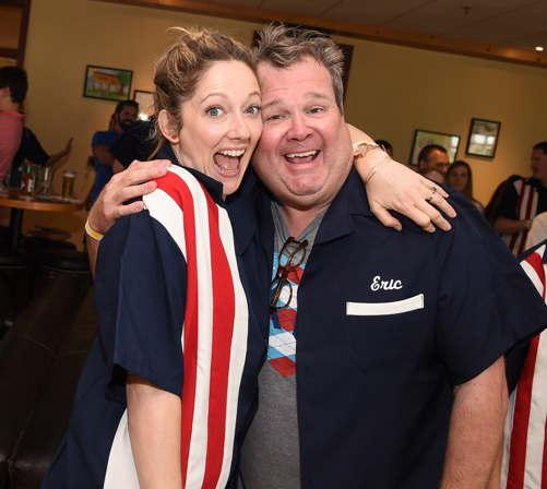 Judy Greer and Eric Stonestreet