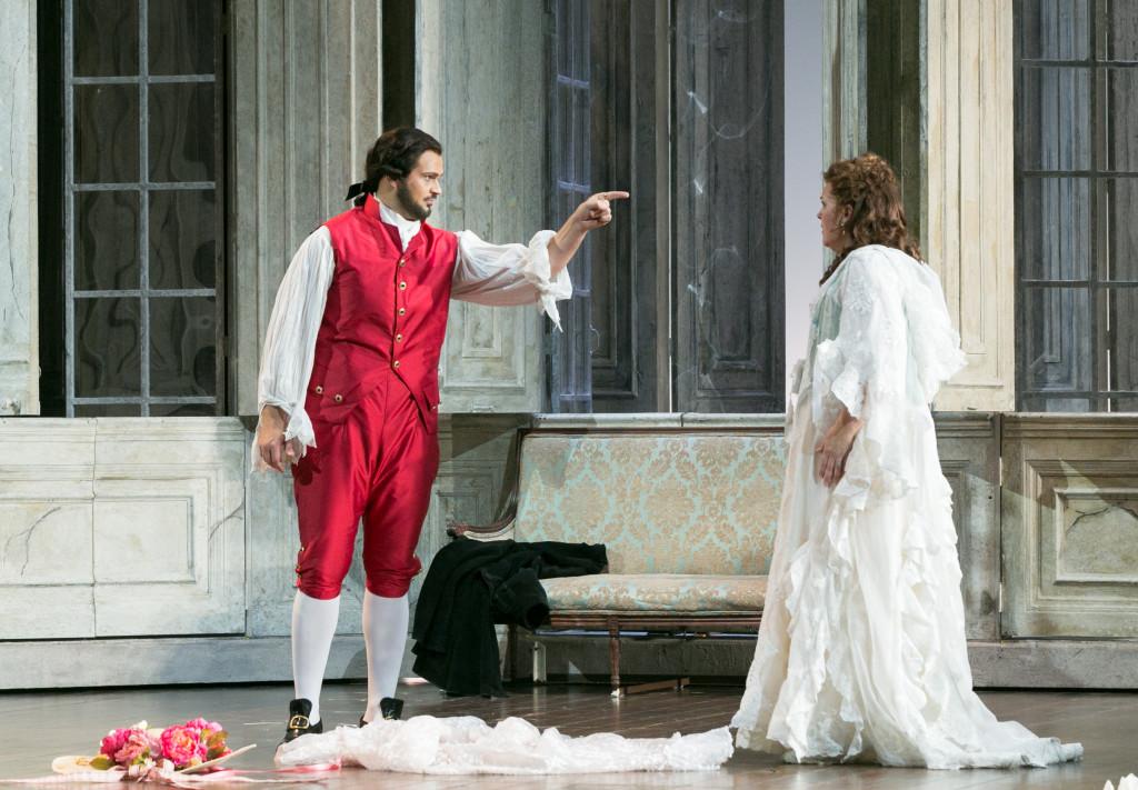 Edward Parks (Count Almaviva) and Katie Van Kooten (Countess Almaviva)