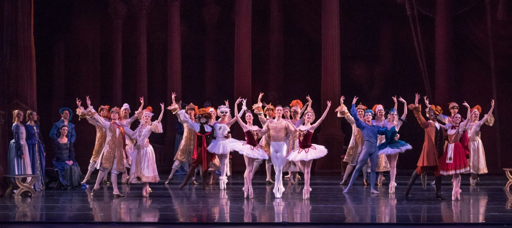 Dancers of the Act III variations