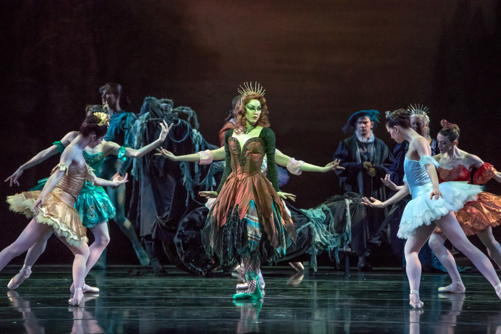 Danielle Bausinger is the deliciously wicked Carabosse