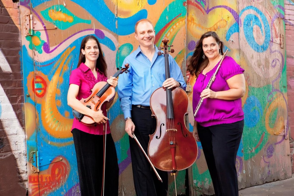 Violist Jessica Nance, cellist Alexander East, and flutist Shanney Finney / Photo courtesy of Summerfest