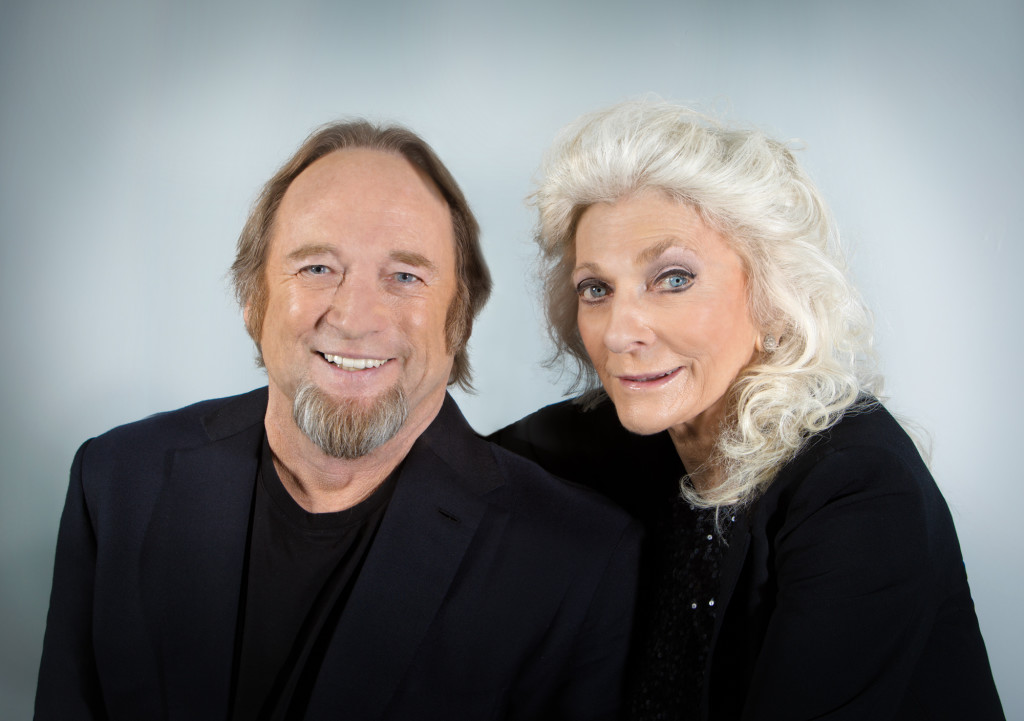Stephen Stills and Judy Collins / Photo courtesy of the Performing Arts Series at JCCC