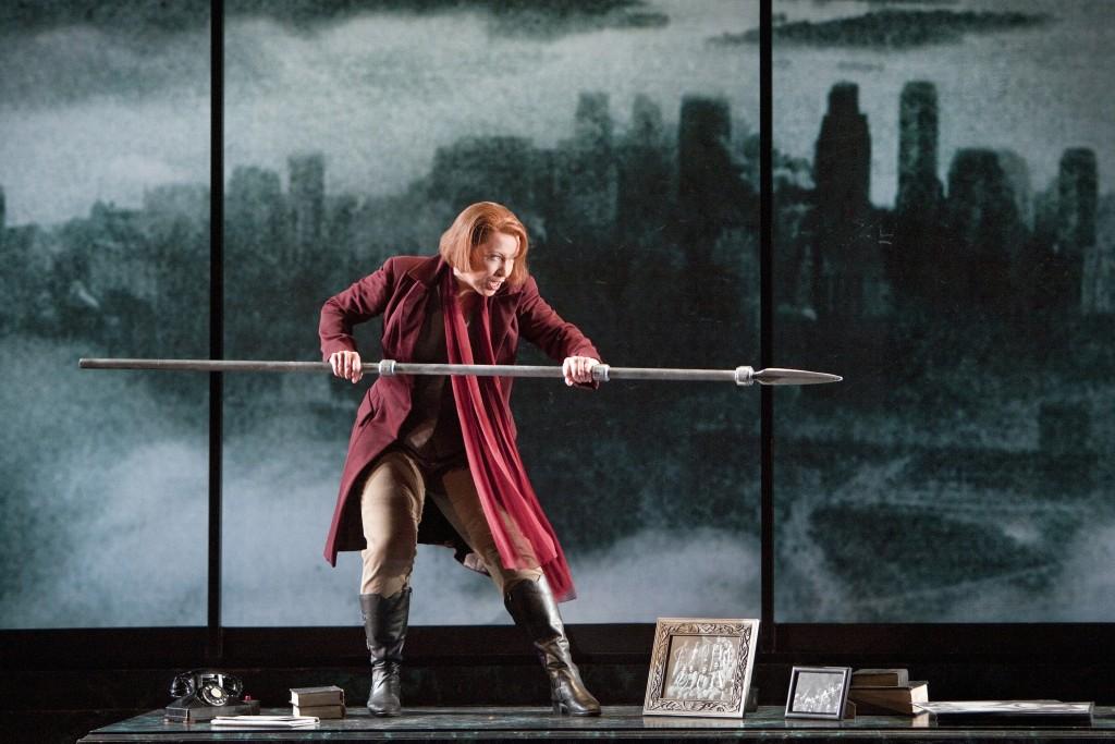 Nina Stemme as Bruennhilde in Die Walkuere