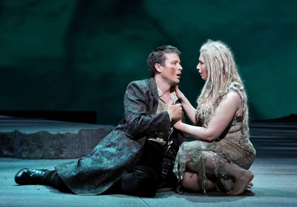 Tenor Maxim Aksenov and soprano Ellie Dehn / Photos by Cory Weaver