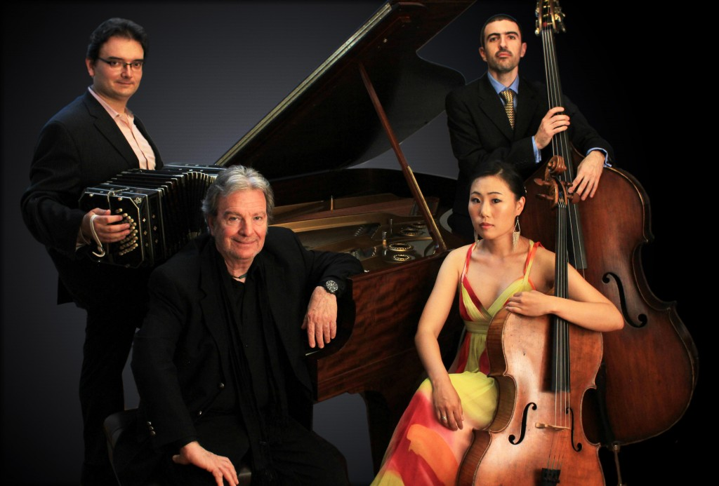 Pablo Ziegler Quartet for New Tango / Photo courtesy Bernstein Artists