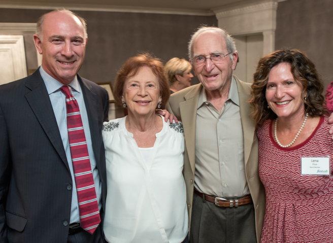 Tom Cohen, Carol & Steve Price, First Call Board Member Lena Price[1]