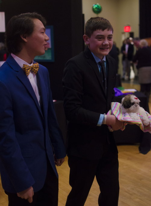 4- David & Cameron with puppy