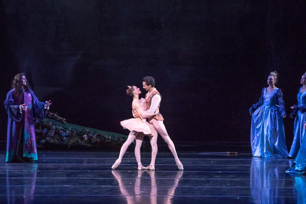 Dancers Tempe Ostergren (Aurora) and Lamin Pereira dos Santos (Prince) / All photos by Brett Pruitt & East Market Studios