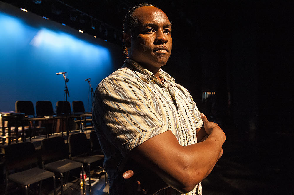 Executive Artistic Damron Russel Armstrong is breaking new ground with his Black Repertory Theatre of KC / Photo by Julie Denesha, used with kind permission of the photographer